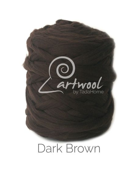 Dark Dark Chunky 100% Merino Wool Yarn