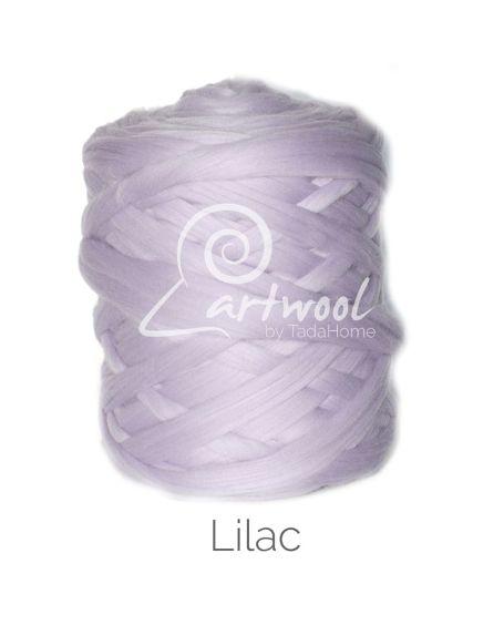 Lilac 100% Merino Yarn Wool Giant Chunky Extreme Big Arm Knitting 1 kg