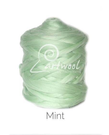 Mint 100% Merino Yarn Wool Giant Chunky Extreme Big Arm Knitting 1 kg