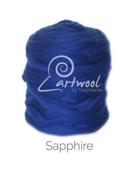 Sapphire Grey 100% Merino Yarn Wool Giant Chunky Extreme Big Arm Knitting 1 kg