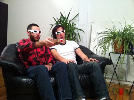 Chris Polansy and Jason Saenz