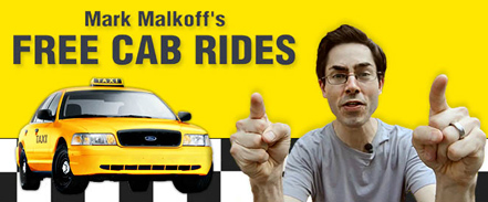 Mark Malkoff's Free Cab Rides directed by Keith Hopkin on MyDamnChannel.com