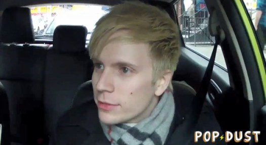 Patrick Stump Driving a Ford Fiesta - shot on GoPro