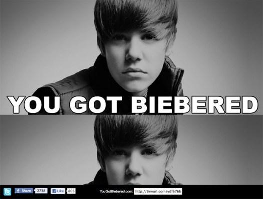 You Got Biebered by Keith Hopkin
