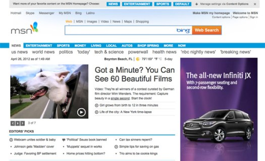 Montblanc Beauty of a Second featured on MSN, Dogs in Cars