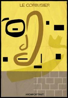 Federico Babina - Archi Portrait - Le Corbusier