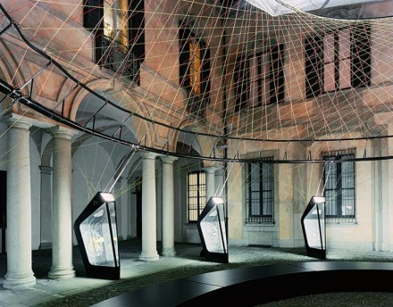 Aero-static Dome - Palazzo Clerici durante la Milan Design Week