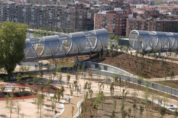 Madrid Rio - Ponte di Perrault