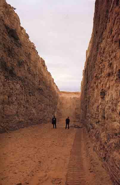 Double Negative, Deserto del Nevada - Michael Heizer