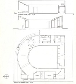U-House - Plan and sections
