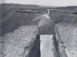 Double Negative, Deserto del Nevada - Michael Heizer