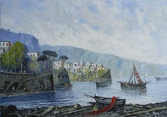 Eugenio Magno - Mattino in costiera