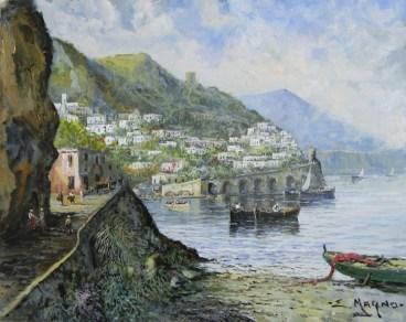 Eugenio Magno - Scorcio Amalfitano