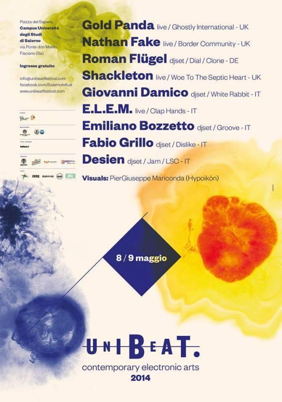 Dario Volpe per Unibeat 2014