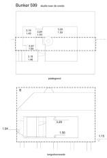 Disegni di progetto - Bunker 599