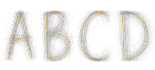BIC - Universal Typeface Experiment
