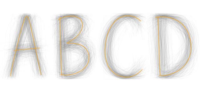 BIC - Universal Typeface Experiment