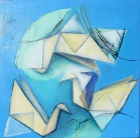 Nikki Morgan Smith - Yellow Paper Swans