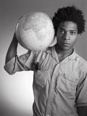 Basquiat by Christopher Makos
