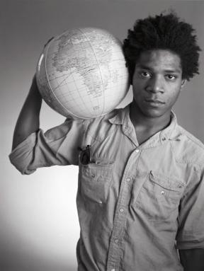 Basquiat by Christopher Makos