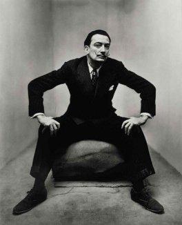 Irving Penn - Salvador Dalì