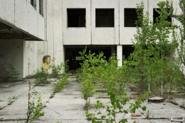 Chernobyl Hidden From View