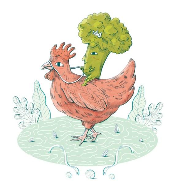 Chicken Broccoli - Elisa Macellari
