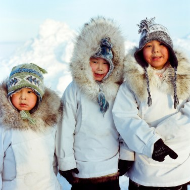 Kivalina, Alaska 2013 - Adams boys