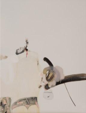 Guglielmo Castelli - Della misura che misurerai gli altri, verrai misurato tu - 40x30cm olio su tela 2014