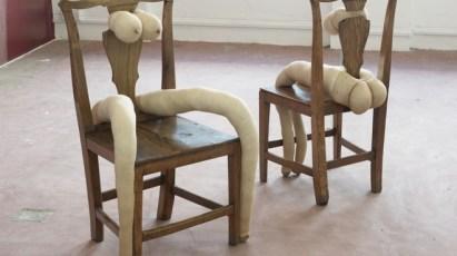 Sarah Lucas Installation