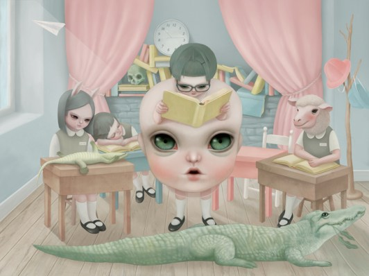 Little Mama Goes to School - Reading Class - Hsiao-Ron Cheng