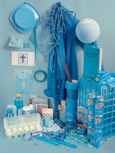Color studies - Blue
