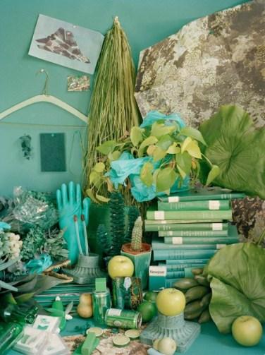 Color studies - Green