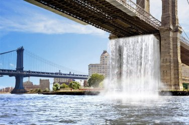 The New York City Waterfalls - Olafur Eliasson