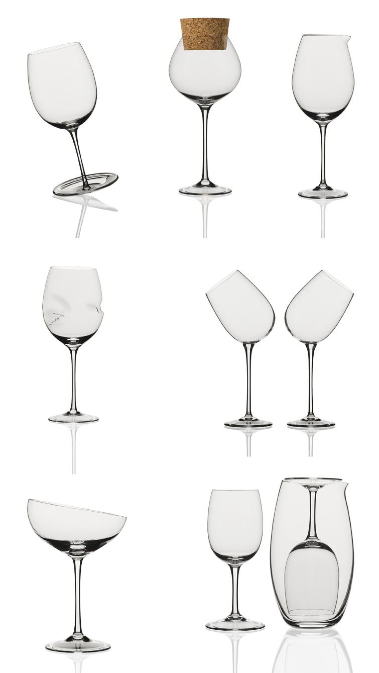 Calici Caratteriali for ColleVilca - Gumdesign