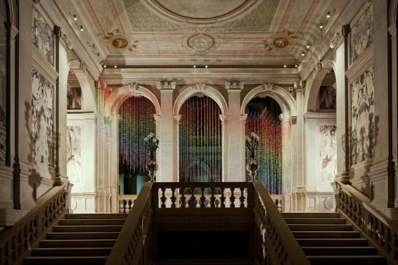 "Vidya Gastaldon, ""Escalator (Rainbow Rain)"", 2007"