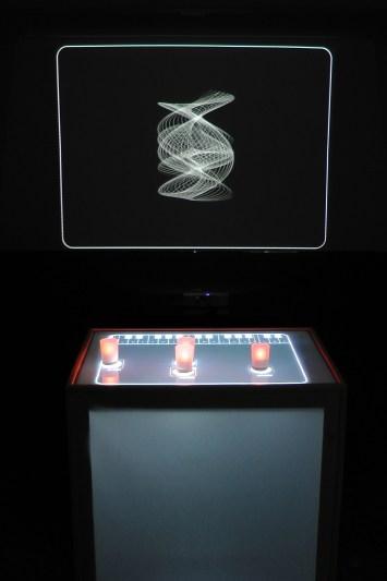 Andrea Santini - OSCILLA - videoinstallazione interattiva, 2013 - NeuroArt