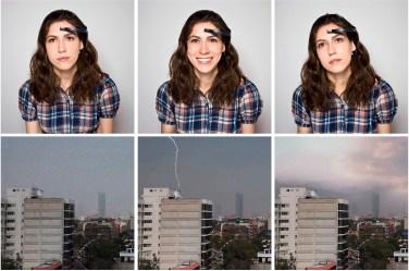 Anni Garza Lau, Environmental disturbances - Videoinstallazione interattiva e lettore di onde cerebrali, 2012 - NeuroArt
