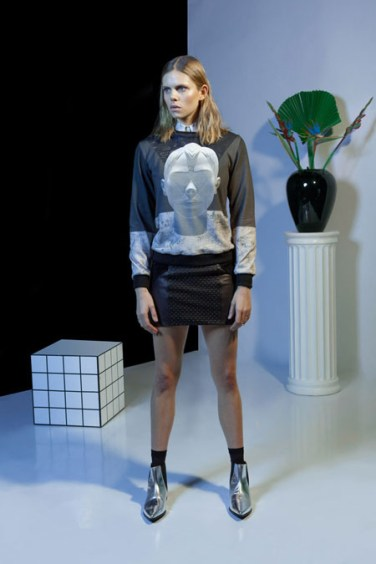 Holographic FW 14 - Jupiter's face print.