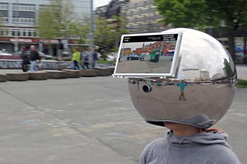 Lorenz Potthast - The Decelerator - Helmet, 2012 - NeuroArt