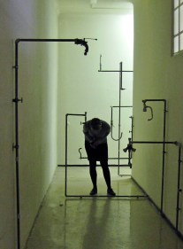 Charbel Samuel Aoun - Whispering taps, Installation