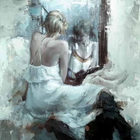 The Mirror in White - Jeremy Mann