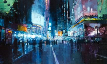 Times Square Lights - Jeremy Mann