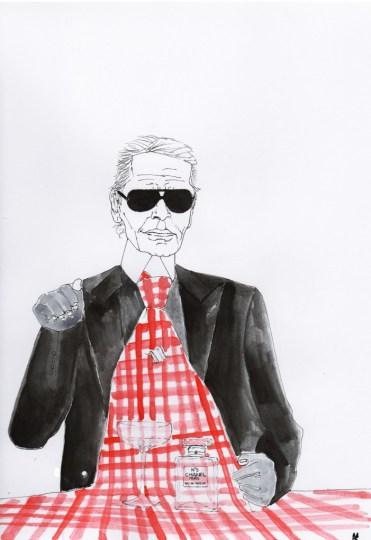 Karl Lagerfeld - Mariuska