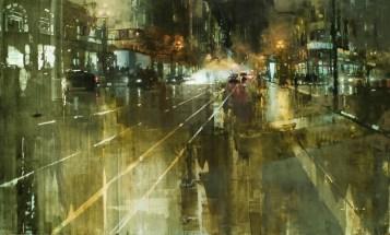 The market street - Jeremy Mann