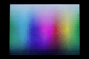 Il puzzle di 1000 colori di Clemens Habicht