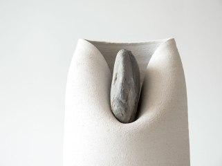 Vase with stone - Martín Azúa