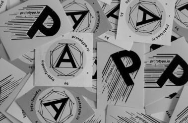 Prototypo stickers