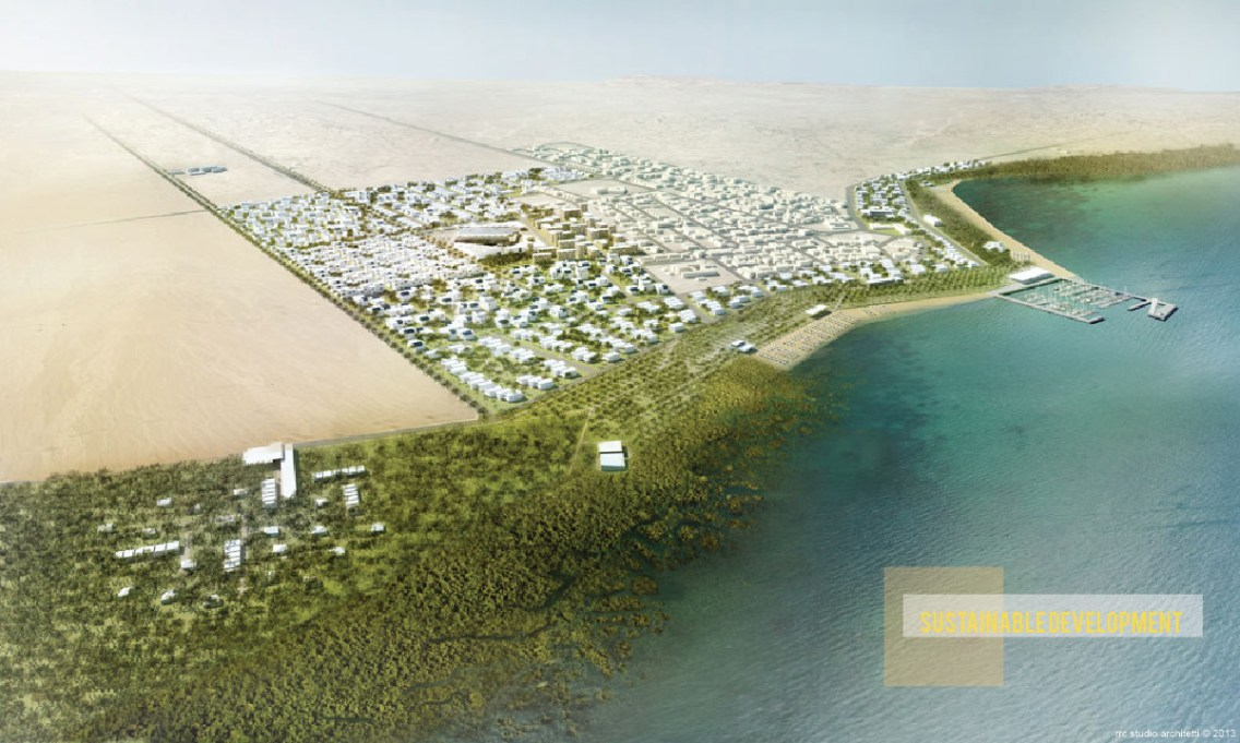 Al Dhakira New City Development © RRC STUDIO