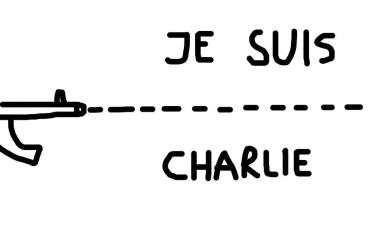 Dan Perjovschi - Je suis Charlie